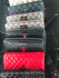 Gucci wallet leather, good quality brand new,$ 90 each  3119 km