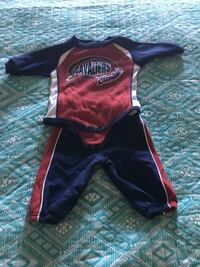 Babies cleveland cavs and ohio state outfits
