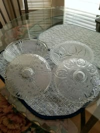 """2 Candy Dishes. Both are 7"""" across each Merced, 95340"""