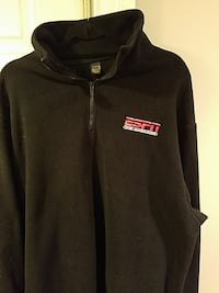 Extra large fleece pullover