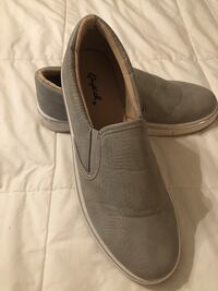 Pair of gray slip-on shoes Gilmer, 75645
