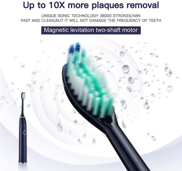 new Electric toothbrush USB rechargeable d3bd23a8-95f6-4ddc-99b4-21c5d77950f2