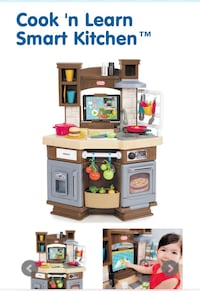 brown and white kitchen play set Suitland, 20762