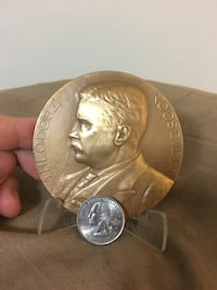 "SALE ---> Giant Theodore ""Teddy"" Roosevelt Coin/Medal"