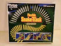 Vintage 1980s Tyco Flexible Snake-Track Seattle, 98102