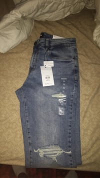 Brand new men blue note jeans
