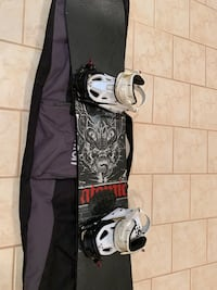 """Atomic Hatchet 160"""" snowboard with bindings and bag Toronto, M1L 3M2"""