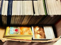 Over 1,000 Magic Cards & Some Pokemon Cards.
