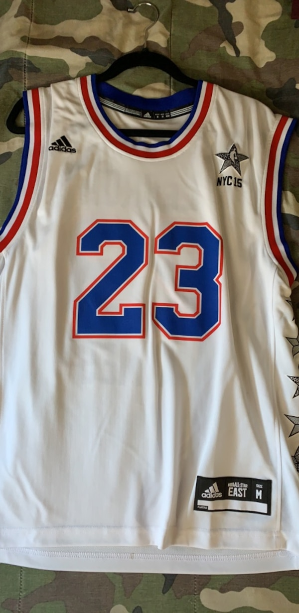 8cff0a0dbe7b Used nba all star jersey 2015 lebron james for sale in Copley - letgo