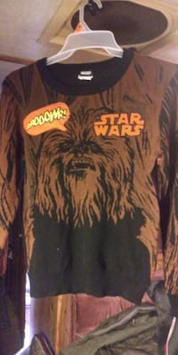 CHEWBACCA Sweaters Large Size New