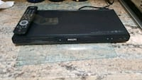 black PHILLIPS DVD player with remote Albuquerque, 87113