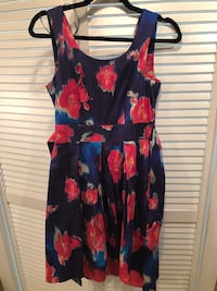 ModCloth blue and red floral sleeveless dress South Windsor, 06074