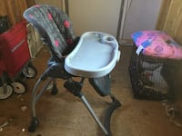 baby's gray and white high chair Bethune, 29009