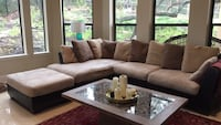Sectional Couch + Ottoman San Antonio, 78205