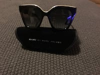 black framed Marc by Jacobs sunglasses