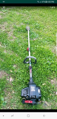 black and red gas string trimmer screenshot