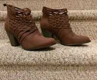 New Fergalicious Ankle Booties  Size 12 W Woodbridge, 22193