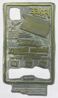 Antique Printing Plate