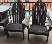 Long England Outdoor Chairs Montreal, H3J 2W9