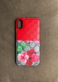 red and white floral iPhone case Arlington, 22202