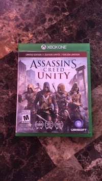 Limited Edition - Assassin's Creed - Unity xbox one Brampton, L6R 2K7