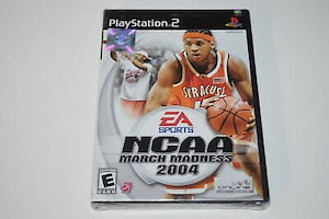 EA SPORTS NCAA MARCH MADNESS 2004 PS2 GAME