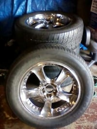 "20"" tires and wheels(OBO)"