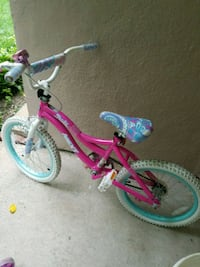 toddler's pink and white bicycle Dayton, 45403