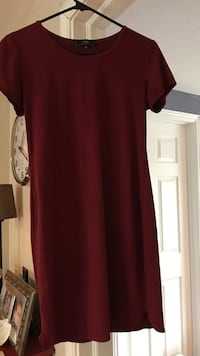 Faux Suede Burgundy Dress Salt Lake City, 84106