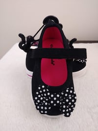 SIZE 2 Black and red polka dot print INFANT/Toddler shoes Palm Bay, 32908