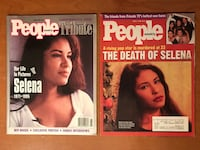 People Magazines Selena Issues From April 1995 Pharr, 78577