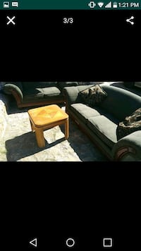 brown and white sectional couch El Paso, 79905