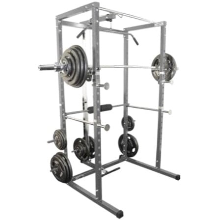 Valor BD-7 PowerRack  AND XMark Adjustable Commercial ExerciseFIDbench