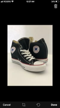 Converse Wedge size 8 not negotiable. Vaughan, L4K