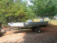 trade 14ft jon boat for atv or motor cycle Cleveland, 30528