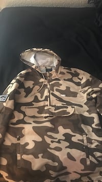 Obey camo size med worn once