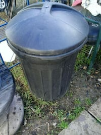 Outdoor trash can Bryan