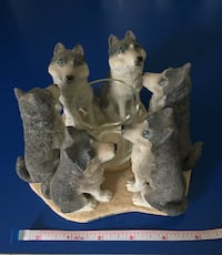 Continental Creations Husky Votive Candle Holder #P700