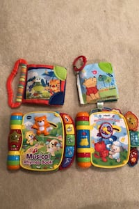 VTech Rhyme Books and Baby Soft Books   Springfield, 22152