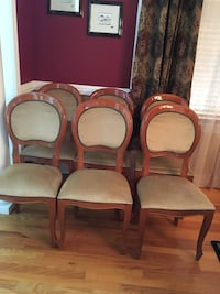 Dining Room Chairs Set of 6.