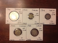 Old coins from Curaçao Falls Church, 22046
