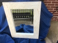 White and Gold Mirror Wilmore, 40390