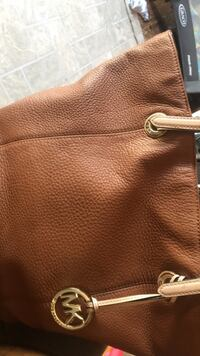 ebd483e6ca3016 Used brown leather Michael Kors tote bag for sale in Allentown - letgo