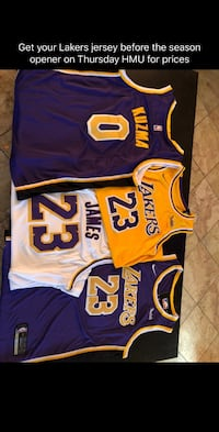 2018/19 Lakers jersey Los Angeles, 91352