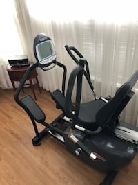 black and gray elliptical trainer GAINESVILLE