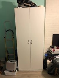 white wooden 2-door wardrobe Annandale, 22003