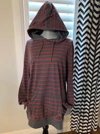 Rumors Top with hoodie size XL