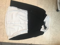 Black and white long sleeved shirt  Maple Grove, 55311
