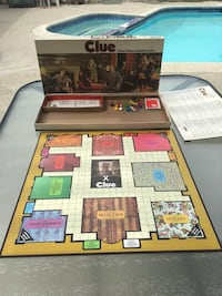 Vintage 1972 Clue board game  Norwalk, 90650