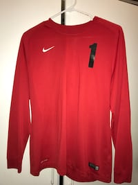 Red AUTHENTIC NIKE Goalie Jersey San Diego, 92114